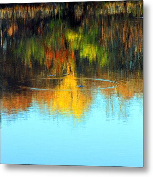 Abstract Nature Metal Print by MPG Artworks