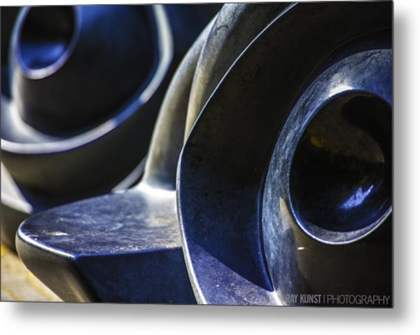 Abstract No.4 Metal Print