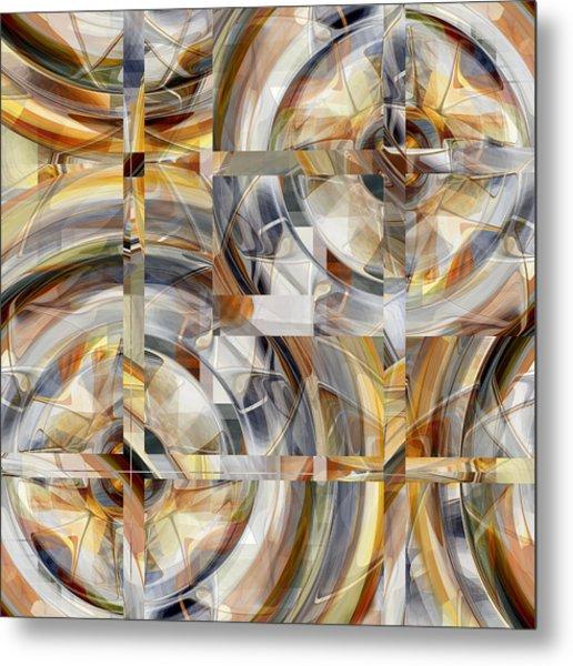 Metal Print featuring the digital art Balanced - 031 by rd Erickson