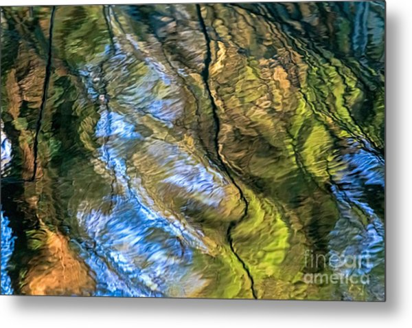 Abstract Of Nature Metal Print