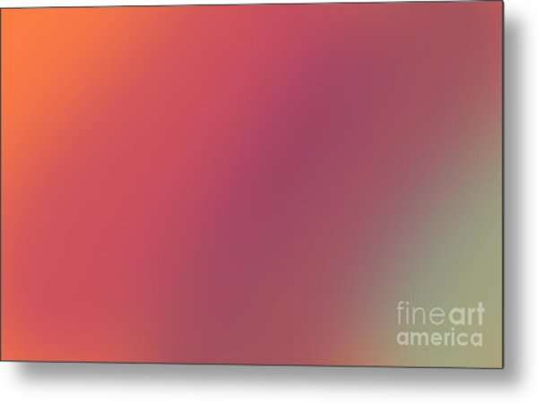 Abstract And Polychromatic Background 1 Metal Print by Enrique Cardenas-elorduy