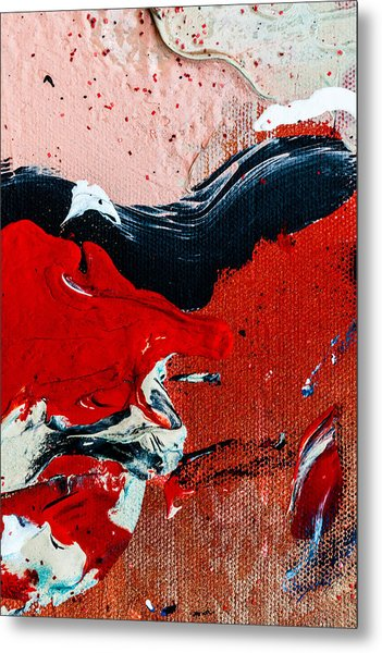 Abstract Original Artwork One Hundred Phoenixes Untitled Number Four Metal Print