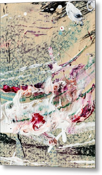 Abstract Original Painting Number Eight Metal Print