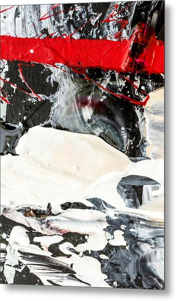 Abstract Original Painting Number Three Metal Print