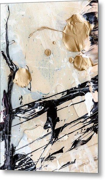 Abstract Original Painting Untitled Twelve Metal Print