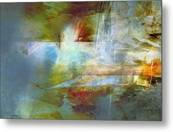 Abstract Painting - Psalms Metal Print