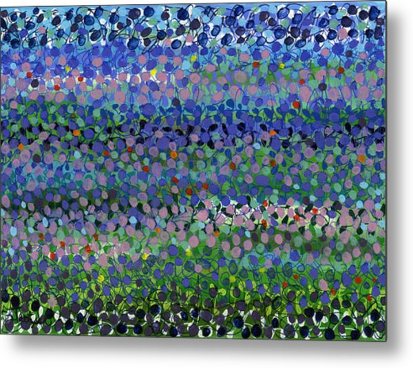 Abstract Patterns Four Metal Print