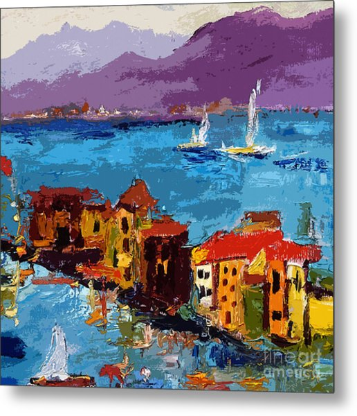 Abstract Portovenere Italy Part Two Metal Print