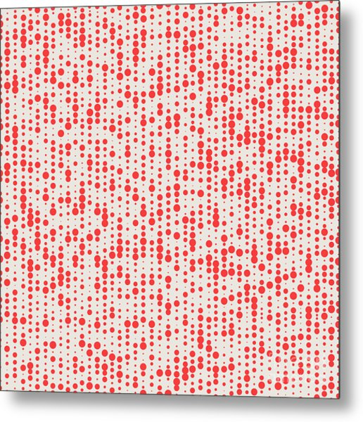 Abstract Seamless Pattern. Seamless Metal Print