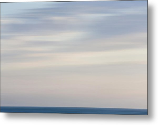 Abstract Seascape No. 01 Metal Print