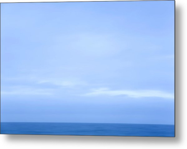 Abstract Seascape No. 07 Metal Print