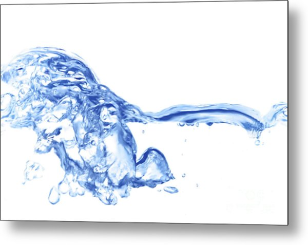 Abstract Soar Water  Metal Print