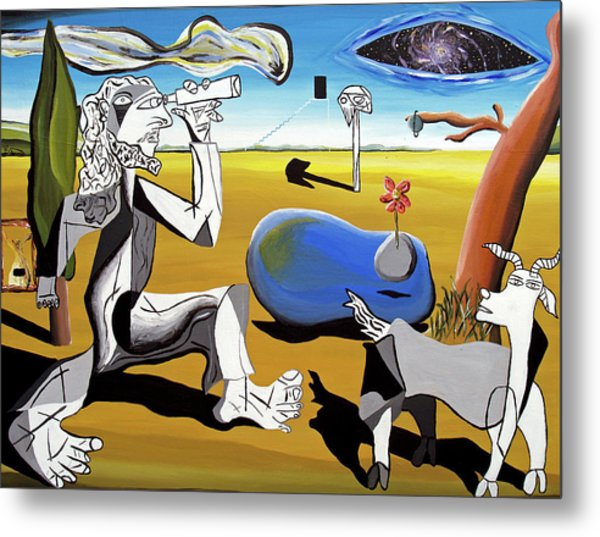 Abstract Surrealism Metal Print