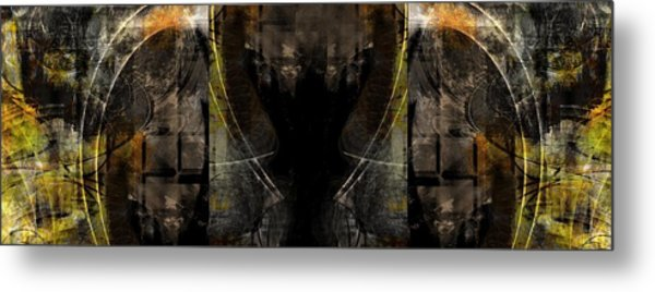 Abstract Symmetry Metal Print