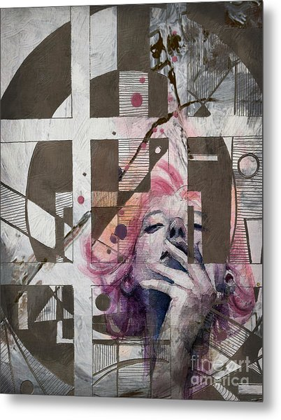 Abstract Women 01 Metal Print