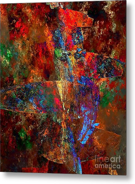 Abstraction 0393 Marucii Metal Print
