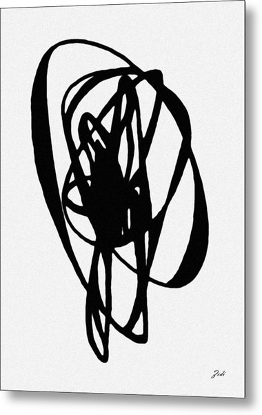 Astratto - Abstract 19 Metal Print