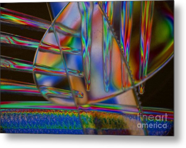 Abstraction In Color 1 Metal Print
