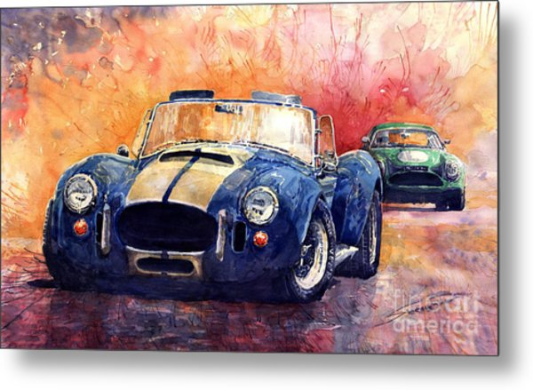 Ac Cobra Shelby 427 Metal Print