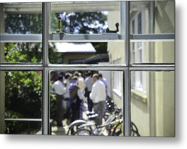 Academic Conference At The Ertegun House In Oxford Metal Print