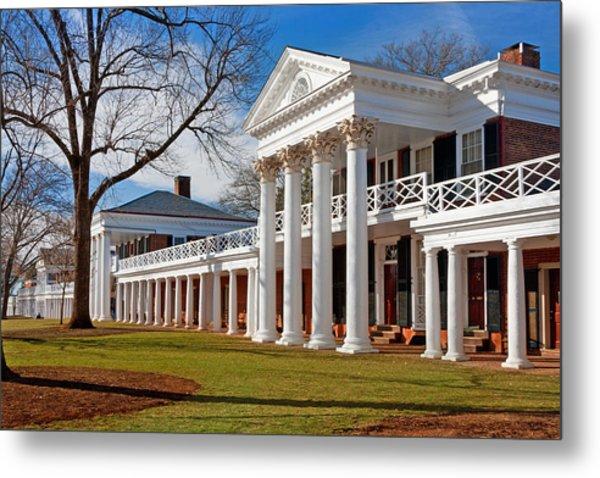 Academical Village At The University Of Virginia Metal Print