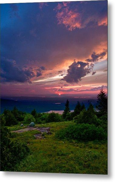 Acadia Sunset 47150 Metal Print