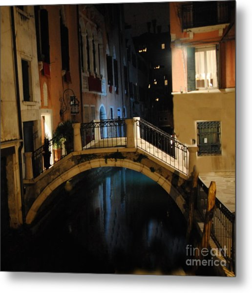 Accademia Charm Metal Print by Jacqueline M Lewis