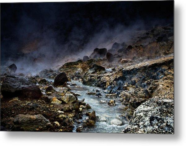 Acid River Metal Print