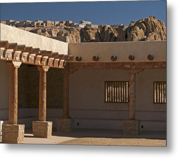 Acoma Old And New Metal Print