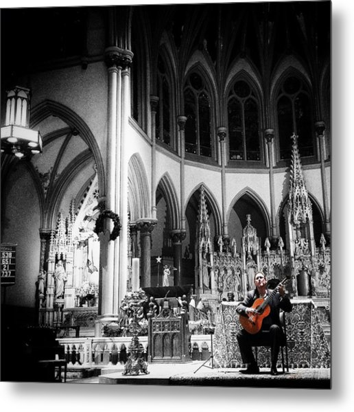 Acoustic Grace Metal Print