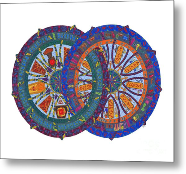 Across The Universe Metal Print by Mary J Winters-Meyer