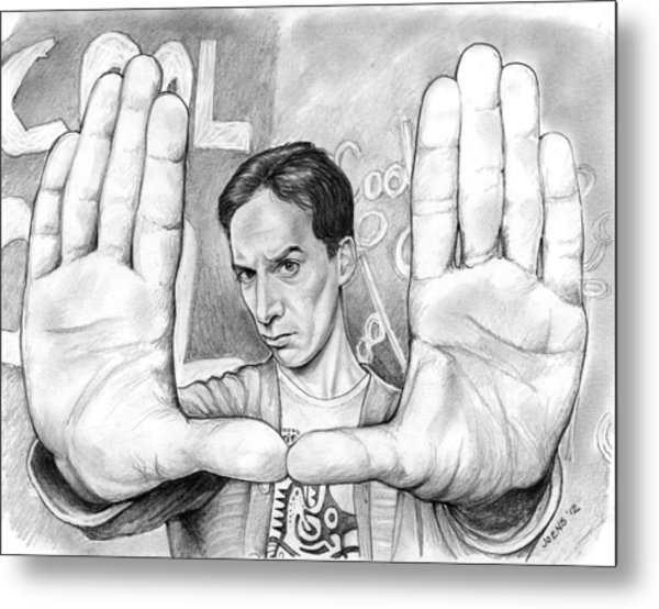 Actor Danny Pudi Metal Print