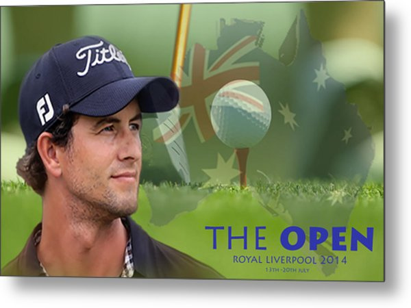 Adam Scott Metal Print