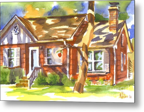 Adams Home Metal Print