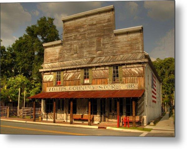Adams Old Country Store Metal Print