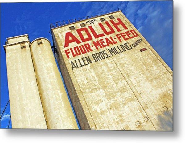Adluh Flour Metal Print