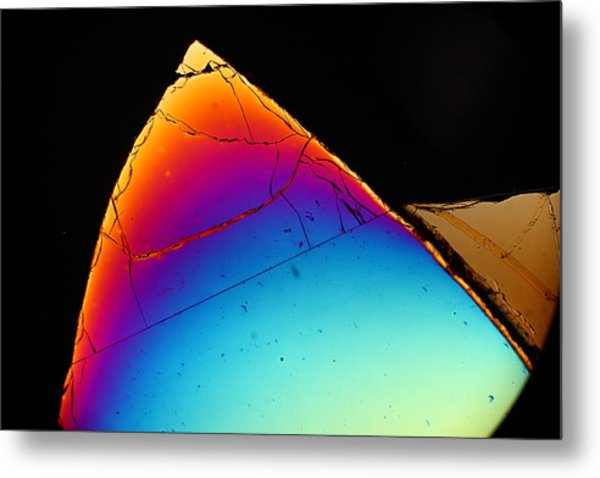 Sharp Tooth Metal Print