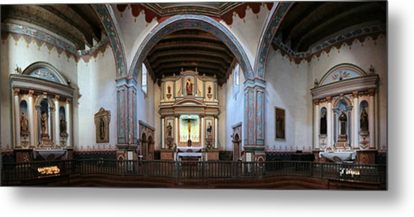 Adoration - Mission San Luis Rey De Francia  Metal Print