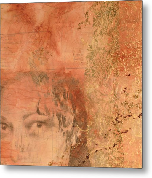 Adornment 2 Metal Print by Carlynne Hershberger