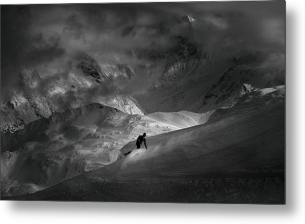 Adventure With Concerns Metal Print