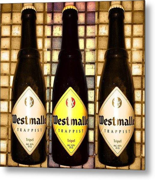 Adventures In Beer. #westmalle Metal Print