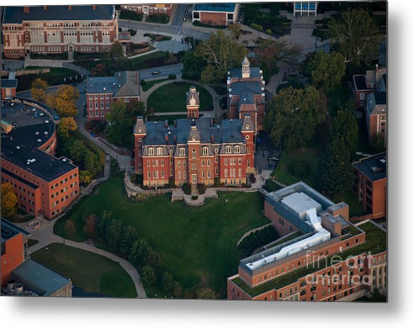 Aerial Of Woodburn Hall Metal Print