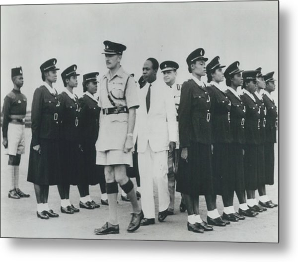 Africa Has Policewomen Metal Print by Retro Images Archive