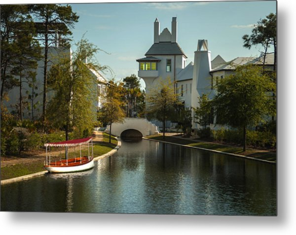 African Queen In Alys Beach Canal Metal Print by Frank Feliciano