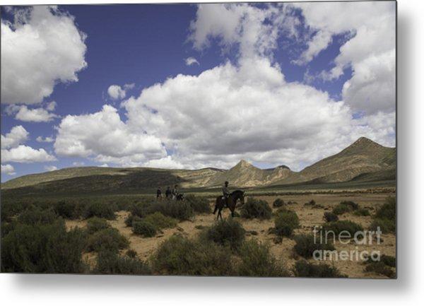 African Trail Ride Metal Print