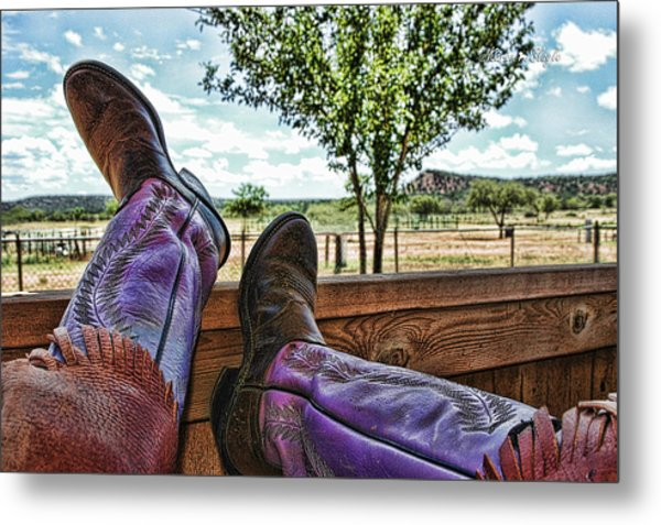 After The Ride Metal Print