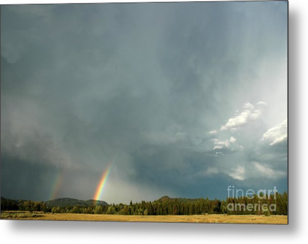 After The  Storm Metal Print by Alan Russo