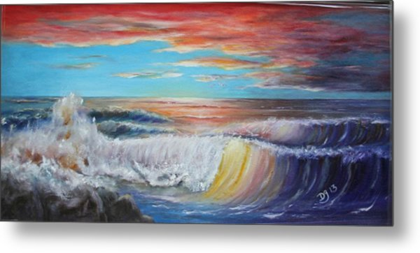 After The Storm At Fort Gaines Metal Print