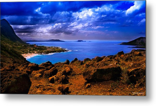 After The Storm - Color Metal Print