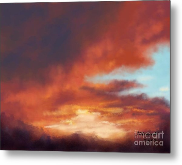 After The Storm Metal Print by Judy Filarecki
